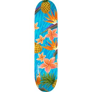Mini Logo Small Bomb Aloha Skateboard Deck 7.75