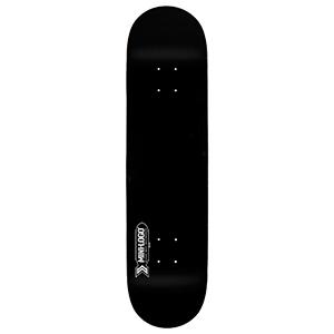 Mini Logo Small Bomb Black Skateboard Deck 7.75