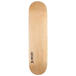 Mini Logo Small Bomb Natural Skateboard Deck 8.75