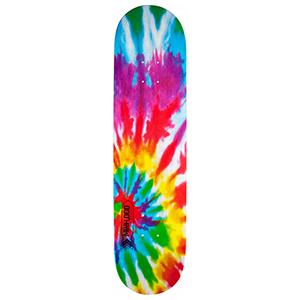Mini Logo Small Bomb Tie Dye Skateboard Deck 7.75