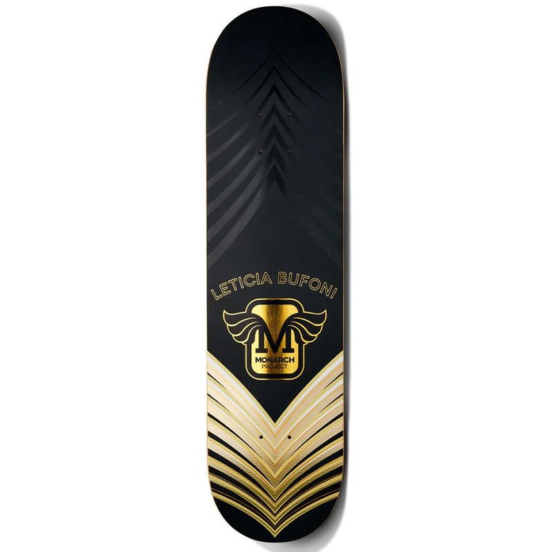 Monarch Project Bufoni Horus Skateboard Deck Gold 8.0