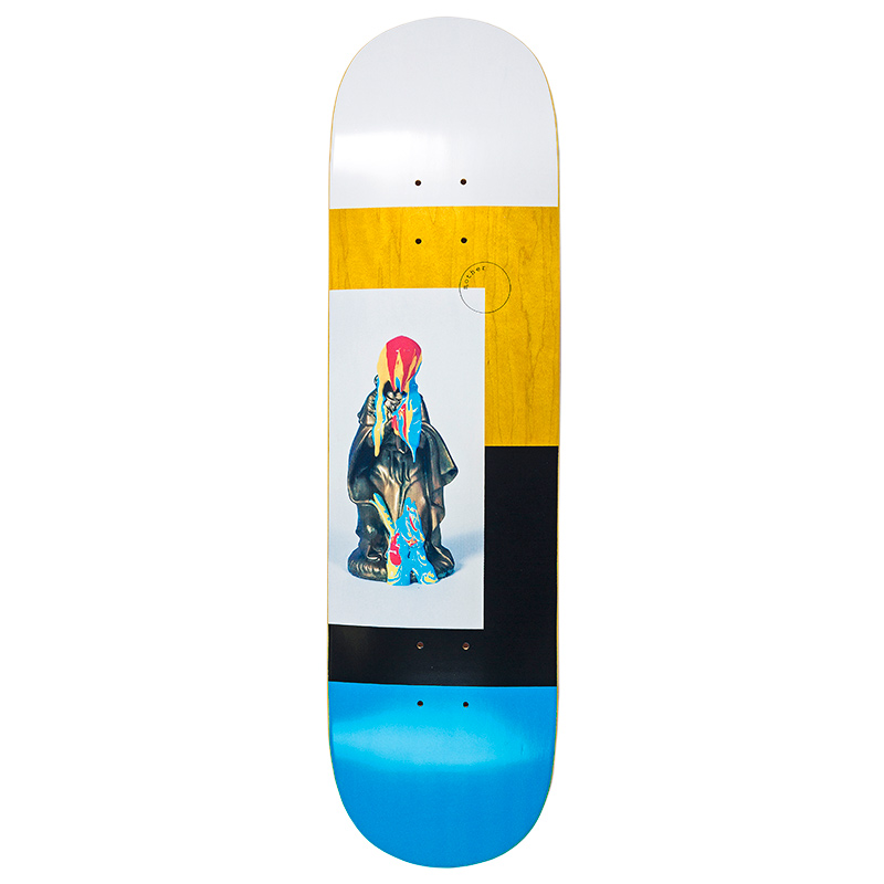 Mother Bukkake - Day Glo Ink 1 Skateboard Deck 8.25