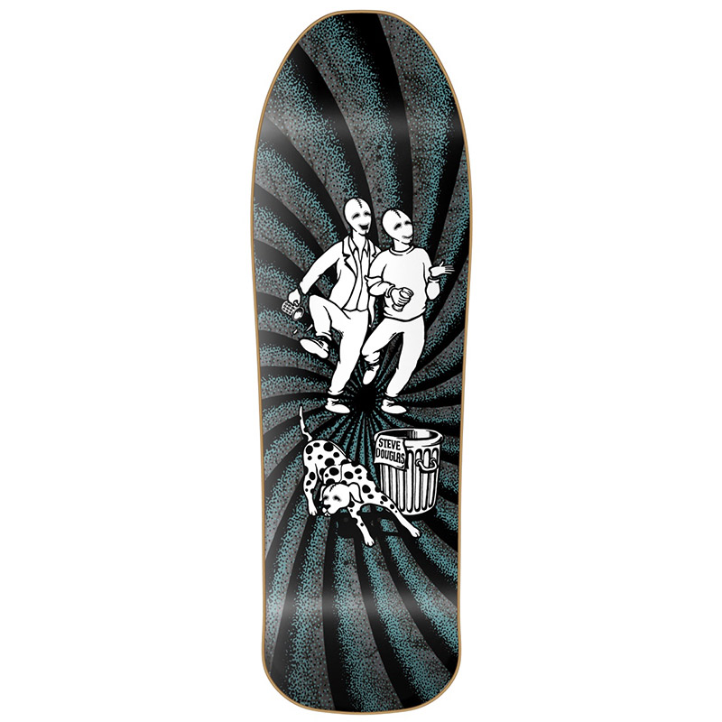 New Deal Douglas Chums HT Skateboard Deck Black 9.75