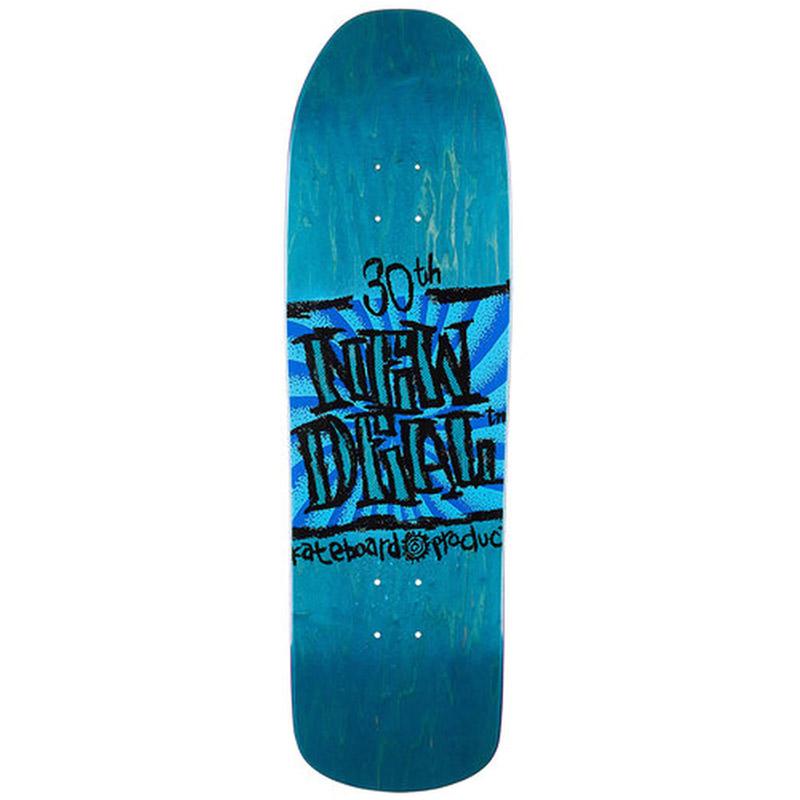 New Deal WTF Napkin Founder Douglas S4 Rocker Skateboard Deck 9.125