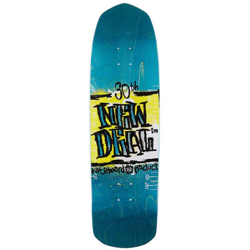 New Deal WTF Napkin Founder Schmitt Rocker Skateboard Deck 9.5