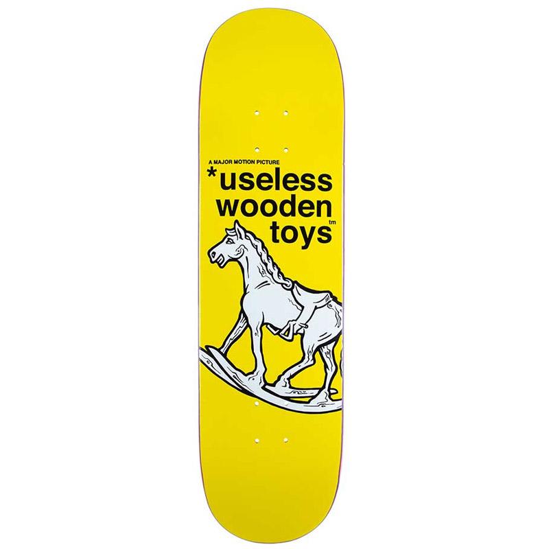 New Deal WTF Rocking Horse Modern Popsicle Skateboard Deck 8.25