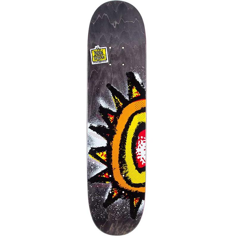 New Deal WTF Sun Modern Popsicle Skateboard Deck 7.5