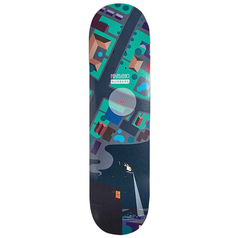 Numbers Mariano Skateboard Deck 8.4