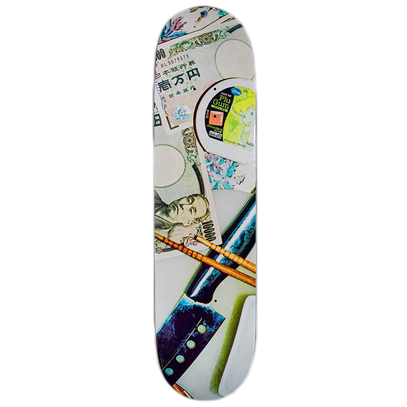 Numbers Silvas Skateboard Deck 8.3