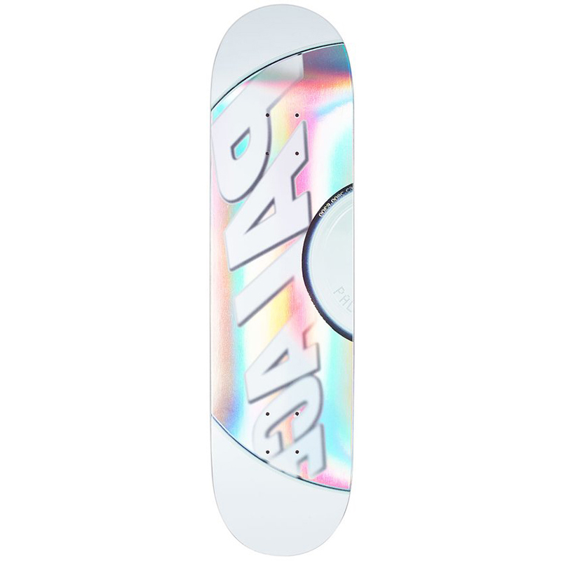 Palace Cd White Skateboard Deck 8