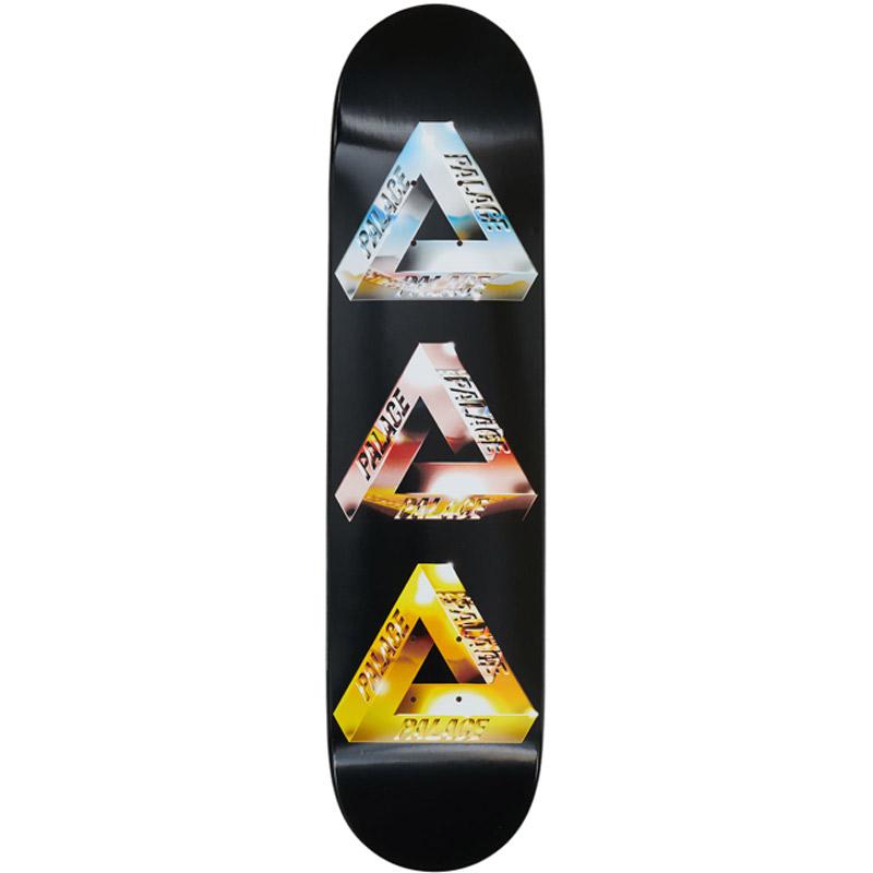 Palace Chrome Tri-Ferg 1 Skateboard Deck 7.75