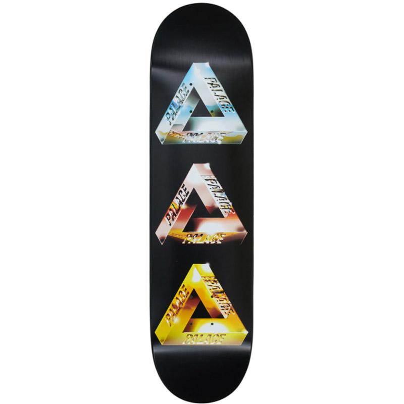 Palace Chrome Tri-Ferg 2 Skateboard Deck 8.1