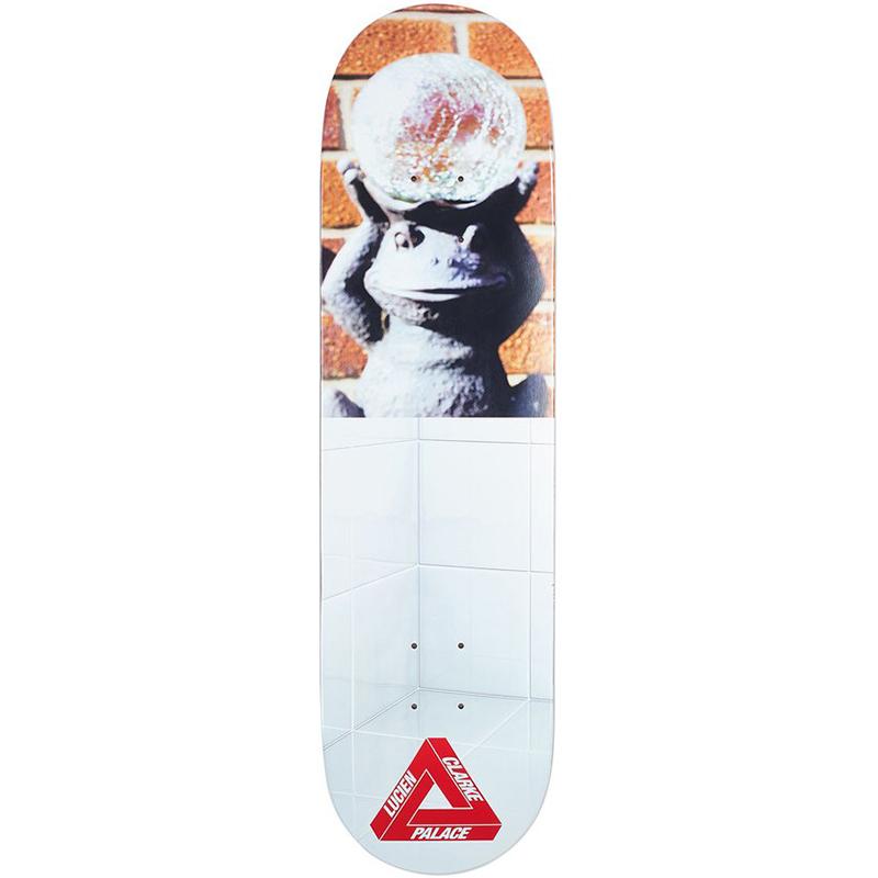Palace Clarke Pro S12 Skateboard Deck 8.25