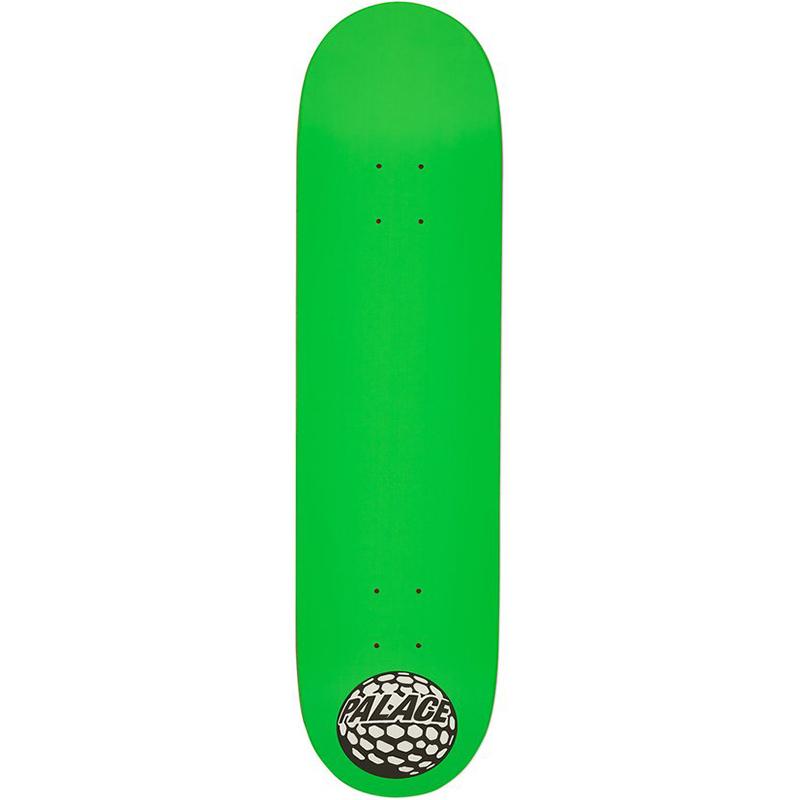 Palace Golfball Skateboard Deck Green 8.0