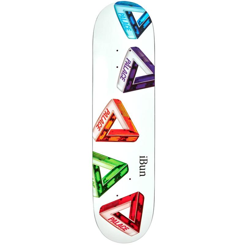 Palace Ich Bun S26 Skateboad Deck 8.0