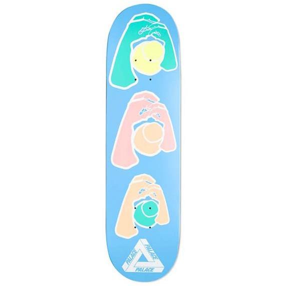 Palace Knight Hands 2 Skateboard Deck 8.2