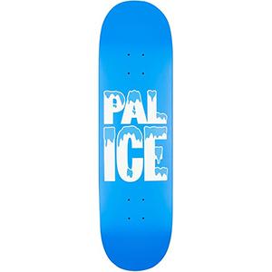Palace Pal Ice Skateboard Deck Blue/White 8.41