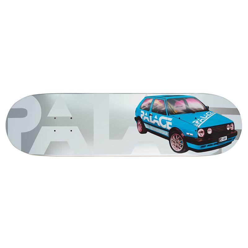 Palace GTI Silver Skateboard Deck 8.2
