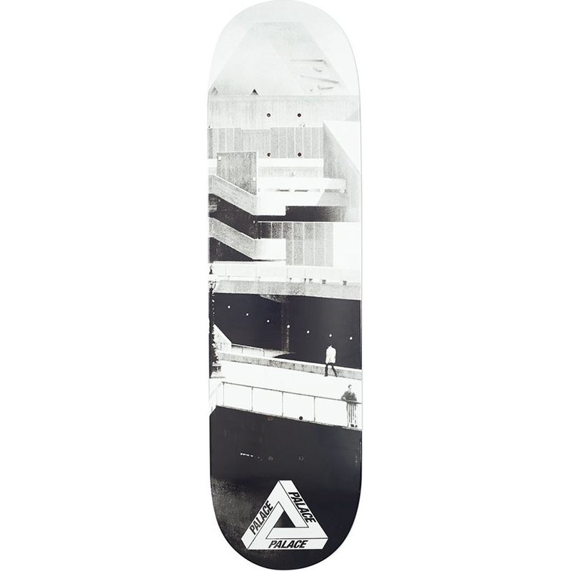Palace South Bank Skateboard Deck 8.2