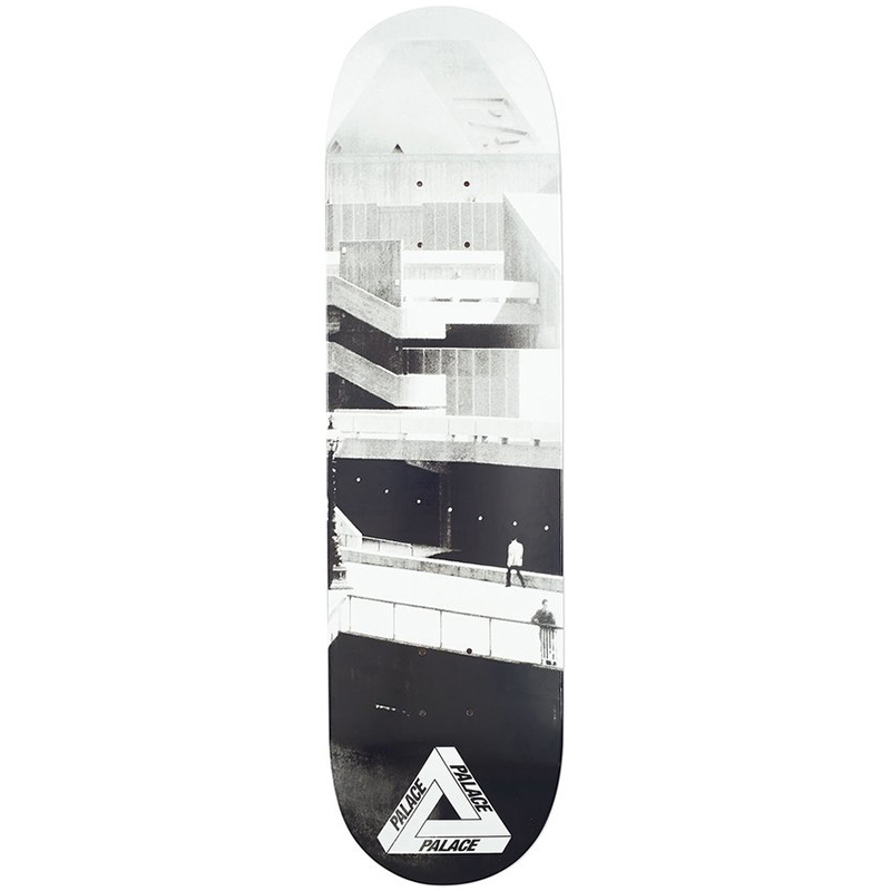 Palace South Bank Skateboard Deck 8.25