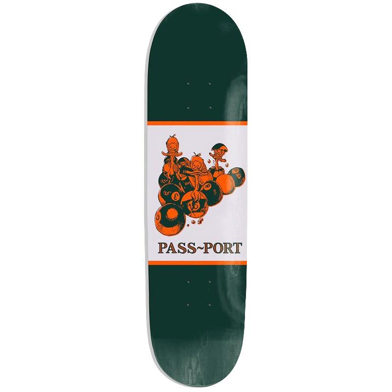 Pass Port Animal Series Ducks In A Row Skateboard Deck 8.0