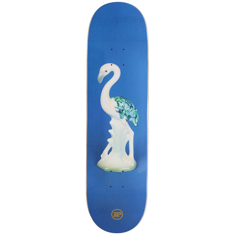 Pass Port Beryl'S Ceramics Flamingo Skateboard Deck 8.25