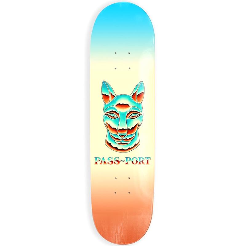 Pass Port Chrome Sphynx Skateboard Deck 8.125