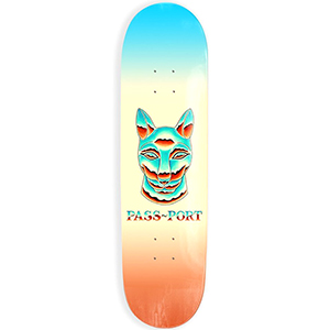 Pass Port Chrome Sphynx Skateboard Deck 8.125