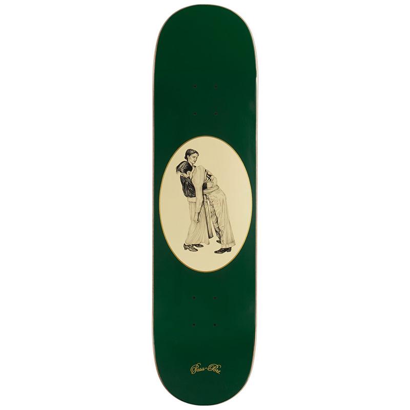 Pass-Port Dancer Series Skateboard Deck Green 8.38