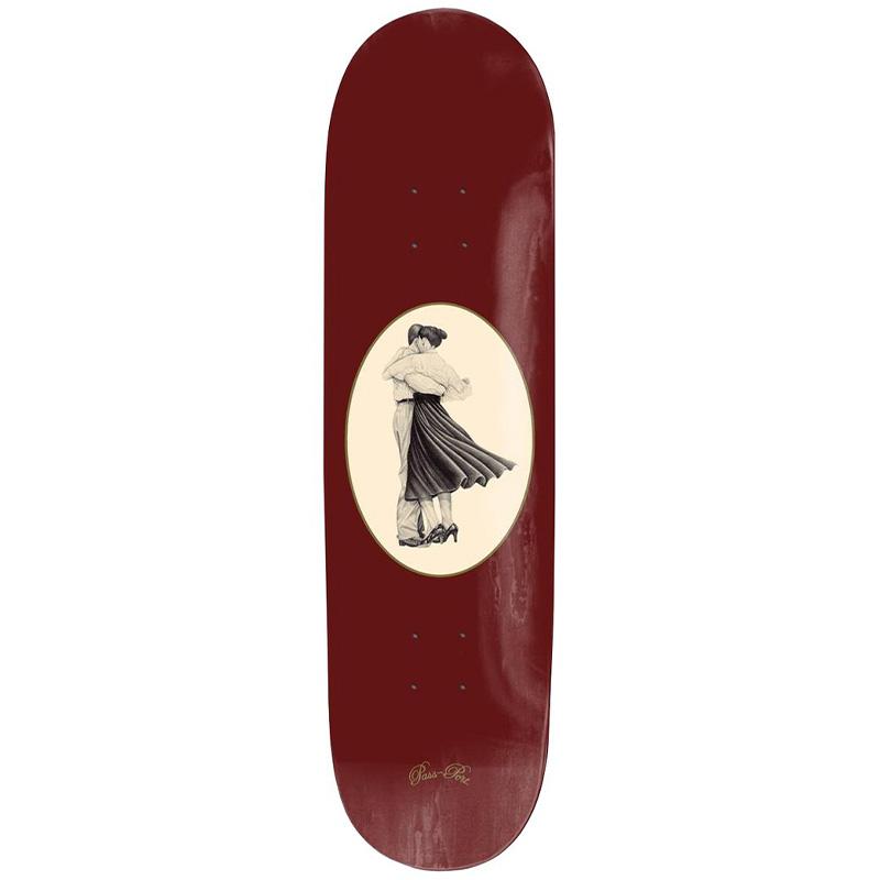 Pass-Port Dancer Series Skateboard Deck Red 8.6