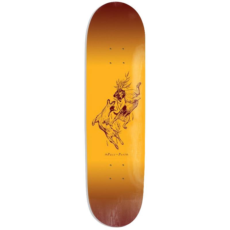 Pass Port Doggo Series Sunburst Skateboard Deck 8.25