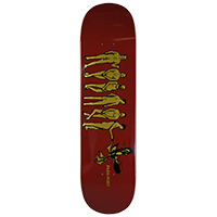 Pass Port Fly In Fly Out Boys Skateboard Deck 8.0