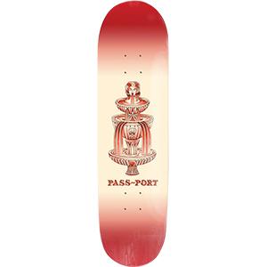Pass Port Fountains For Life Kallos Skateboard Deck 7.875