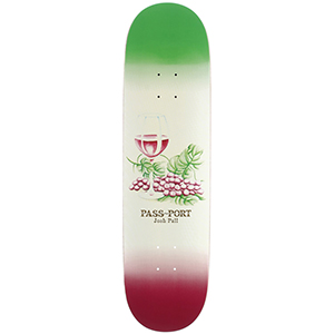 Pass Port Josh Pall Drinks and Mixers Pros Skateboard Deck 8.0