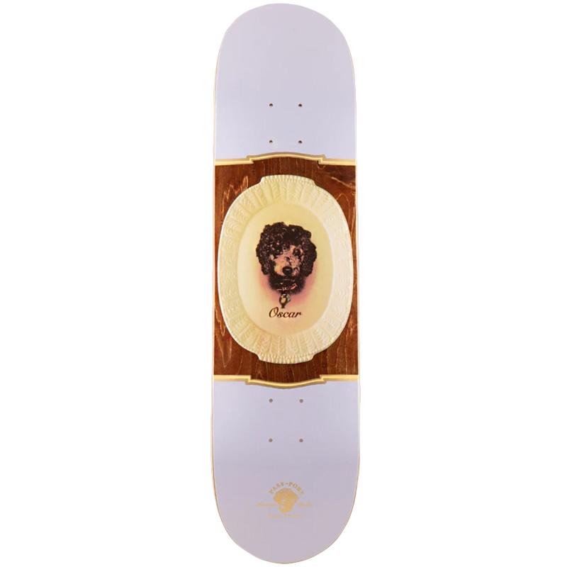 Pass-Port Pet Plate Pro Series Dean - Oscar Skateboard Deck 8.0