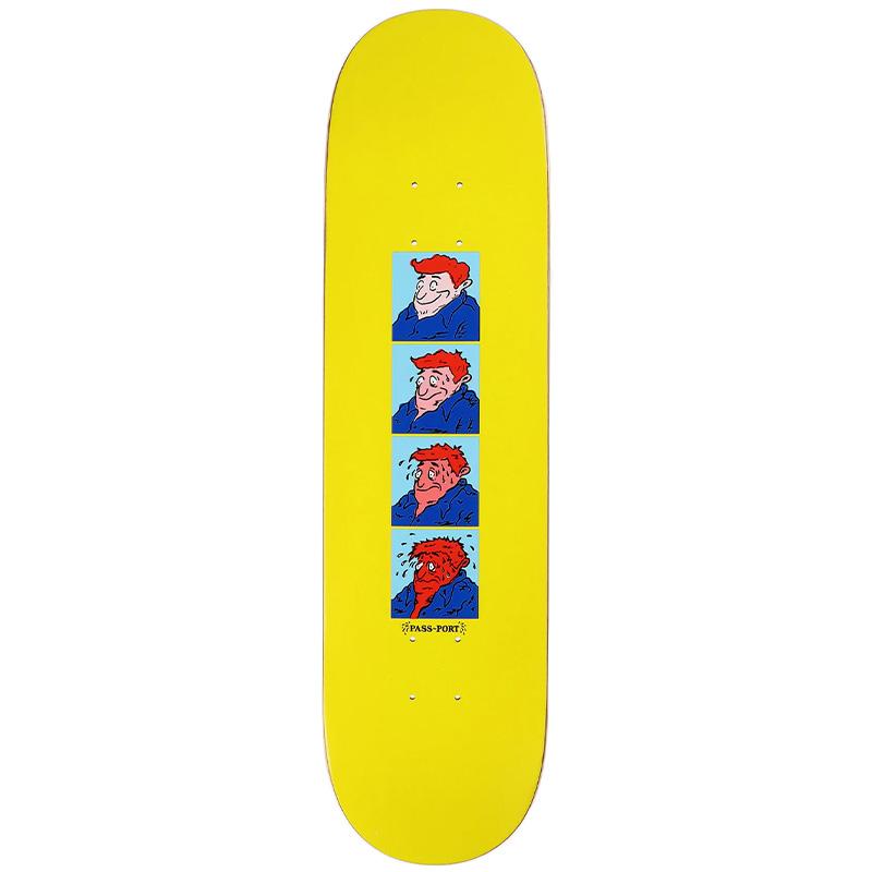 Pass-Port Singles Sweaty Boy Skateboard Deck 8.0
