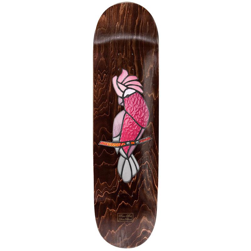 Pass-Port Stainglass Series Dean Palmer Galah Skateboard Deck 8.38