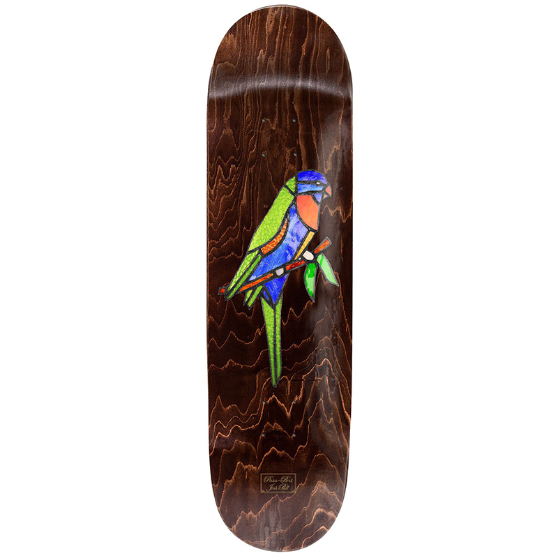 Pass-Port Stainglass Series Josh Pall Lori Skateboard Deck 8.0