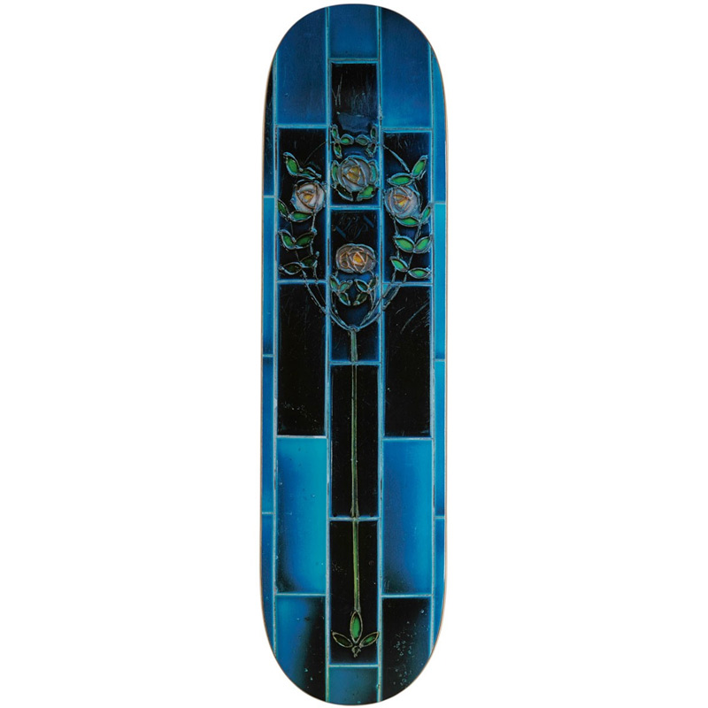 Pass Port Tile Life Skateboard Deck Blue 8.25