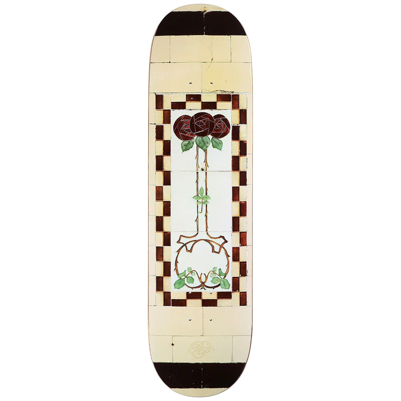 Pass Port Tile Life Skateboard Deck Cream 8.25