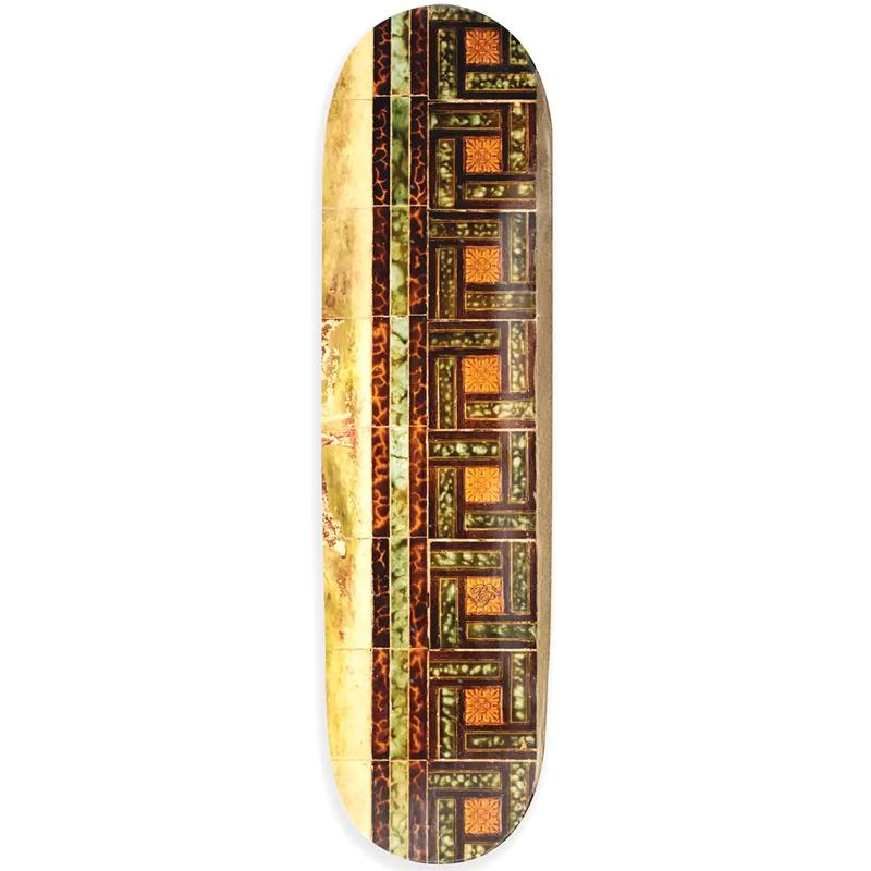 Pass Port Tile Skateboard Deck Tortoise 8.25