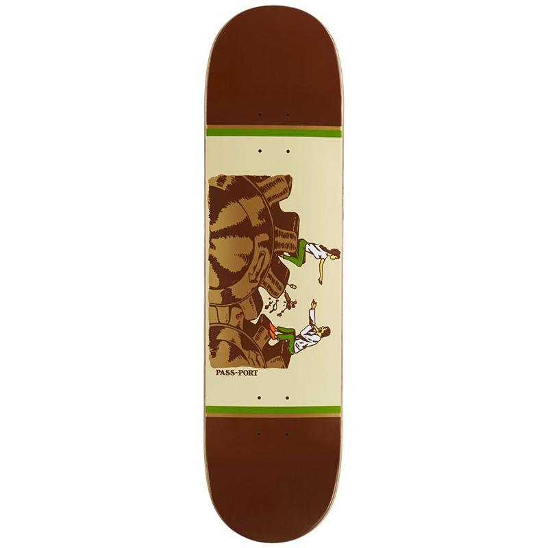 Pass-Port Unlucky in Love Series Date Night Skateboard Deck 8.0