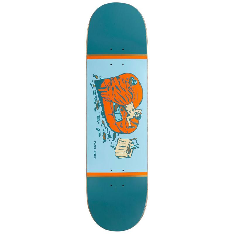 Pass-Port Unlucky in Love Series Self Love Skateboard Deck 8.0