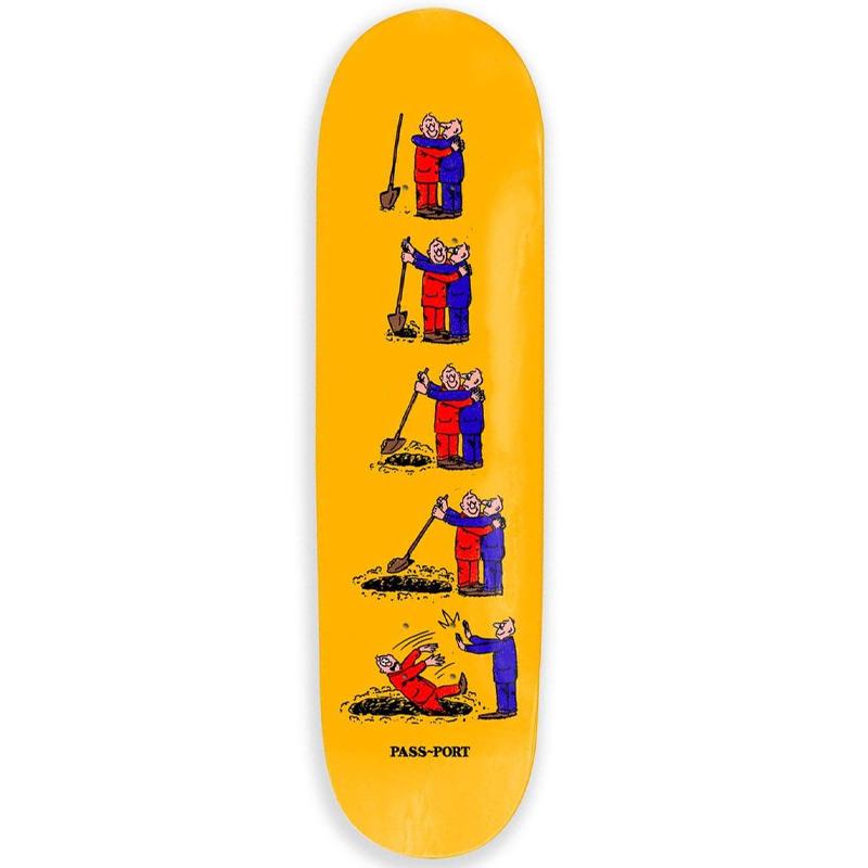 Pass Port W.C.W.B.F. Dig Skateboard Deck 8.25