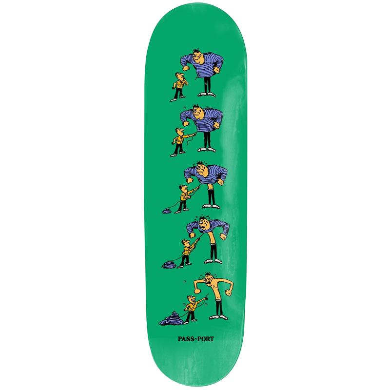 Pass Port W.C.W.B.F. Thread Skateboard Deck 8.125