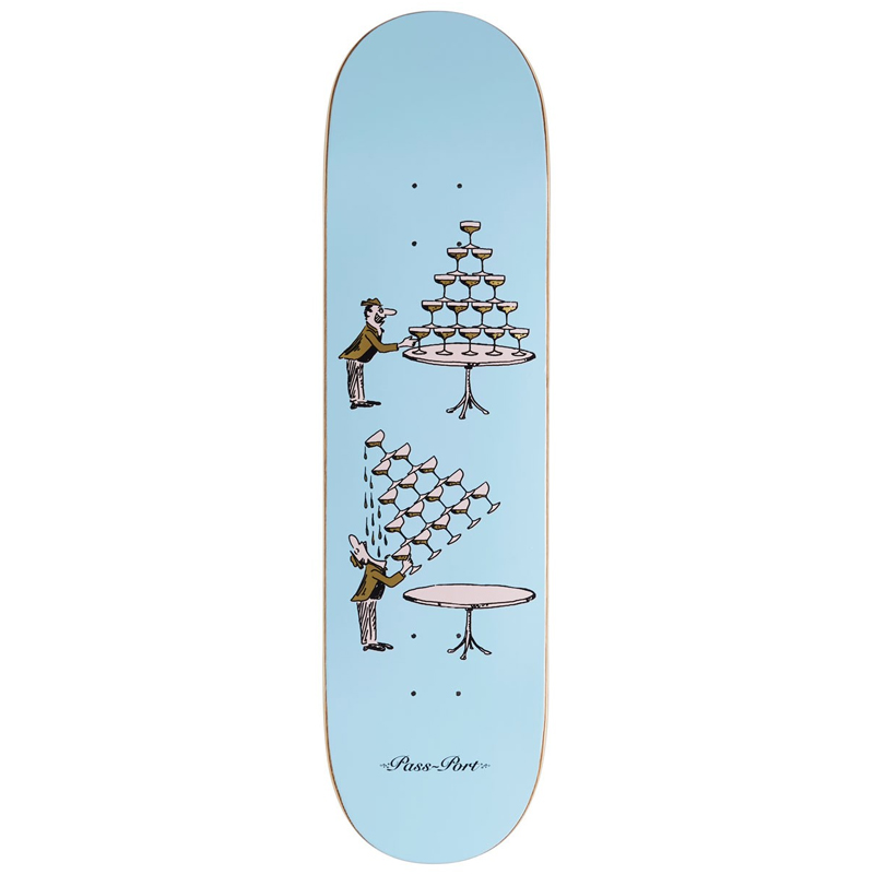 Pass Port Champers Waterfall Skateboard Deck 8.0