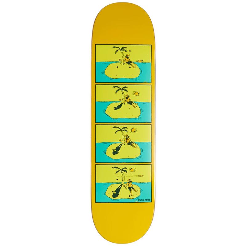 Pass Port Shady Shadows Sos Skateboard Deck 8.38