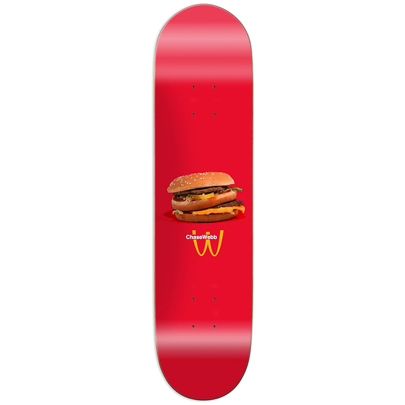 Pizza McWebb Skateboard Deck 8.25