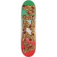 Pizza Meltdown Skateboard Deck 8.4