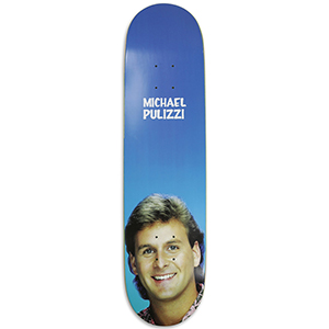 Pizza Pulizzi Uncle Joey Skateboard Deck 8.18